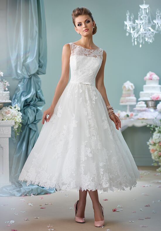 Calf length wedding dresses dress fric ideas for Calf length wedding dresses