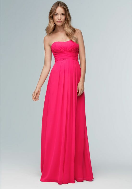 Wtoo Maids 100 Strapless Bridesmaid Dress