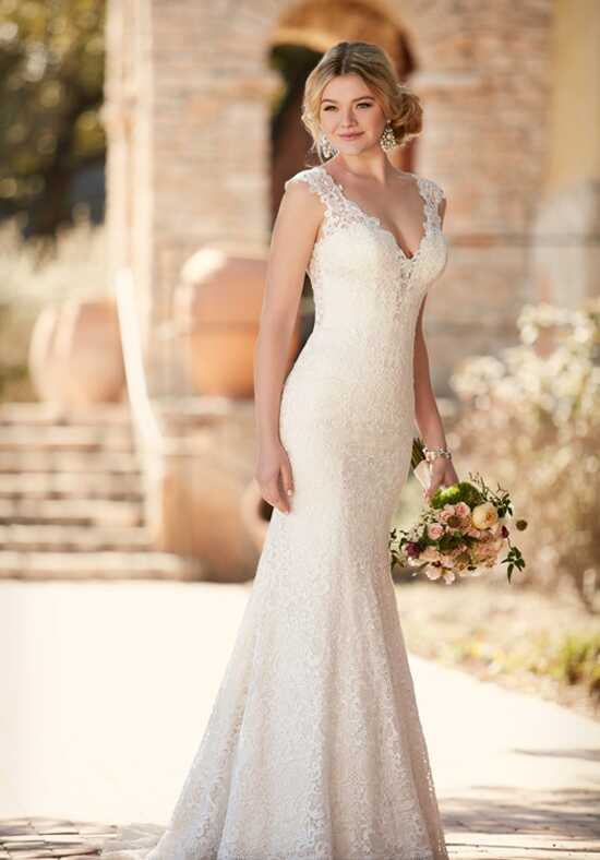 Essense of Australia D2159 Sheath Wedding Dress