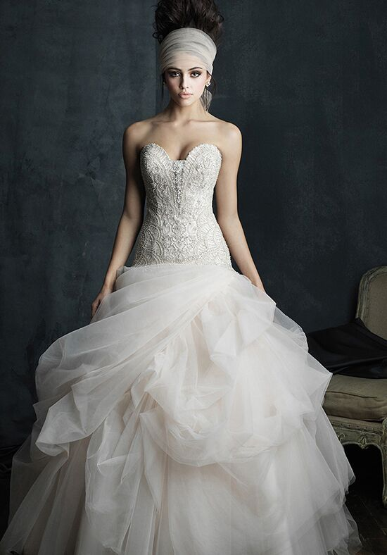 Allure Couture C393 Ball Gown Wedding Dress