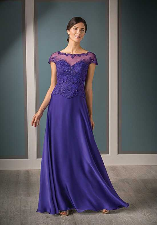 Jade Couture K188010 Purple Mother Of The Bride Dress