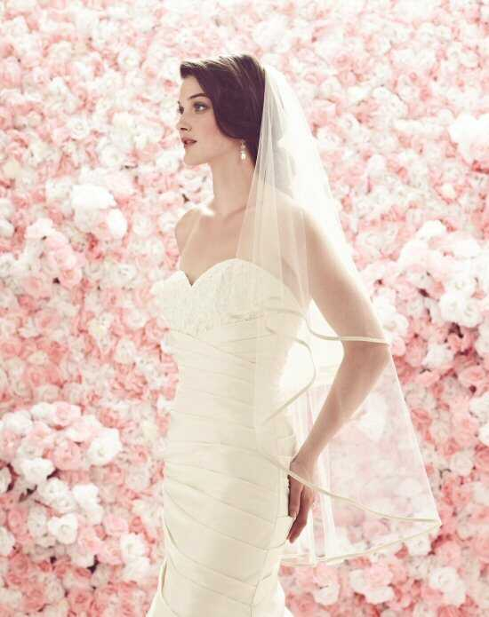 Mikaella by Paloma Blanca Veils Collection VM442FT Ivory Veil