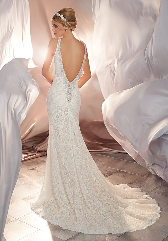 Morilee by Madeline Gardner/Voyage Mona | Style 6866 Sheath Wedding Dress
