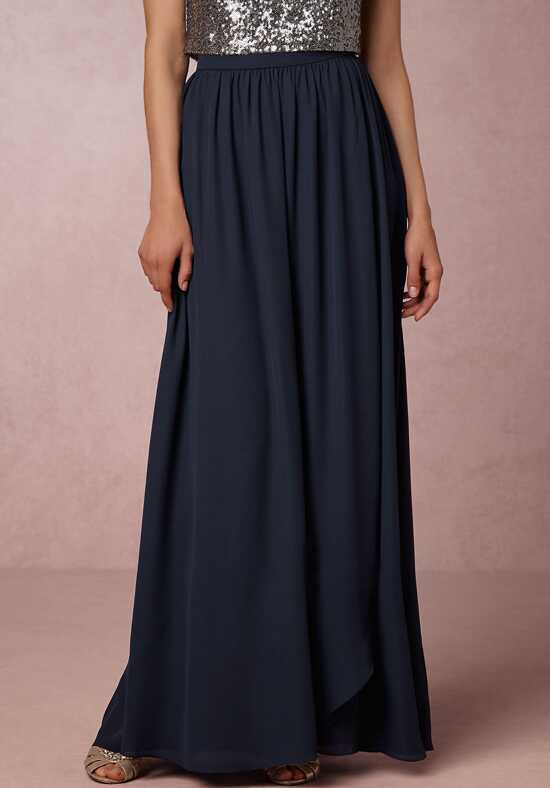 BHLDN (Bridesmaids) Jane Skit - Navy V-Neck Bridesmaid Dress