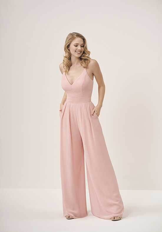 JASMINE P196053 V-Neck Bridesmaid Dress