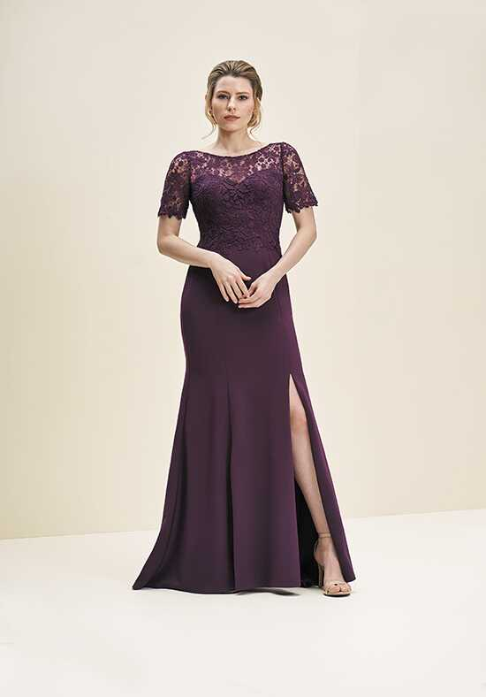 Jade J195061 Purple Mother Of The Bride Dress