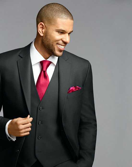 Wedding Tuxedos   Suits with Red Accessories