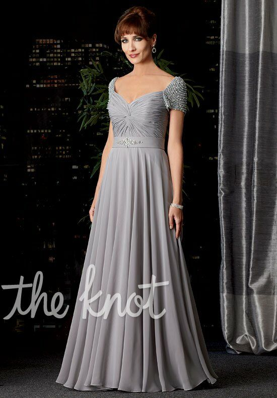 Caterina 7002 Silver Mother Of The Bride Dress