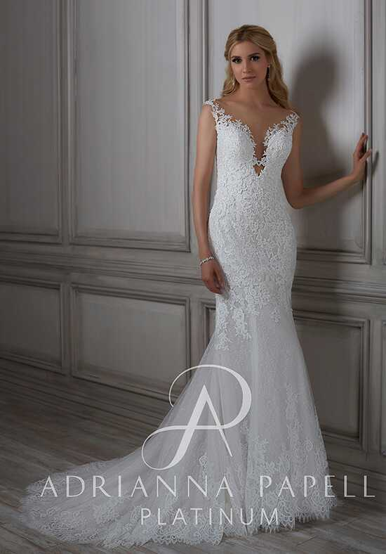 Adrianna Papell Platinum Lara Mermaid Wedding Dress