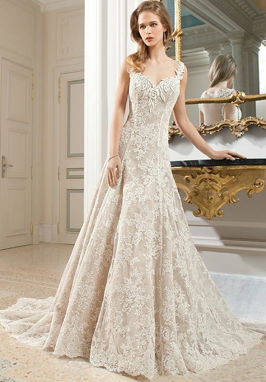 Demetrios C219 A-Line Wedding Dress