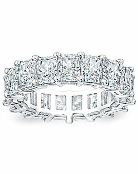 Since1910 Eternity Ring .50ct RAD White Gold Wedding Ring