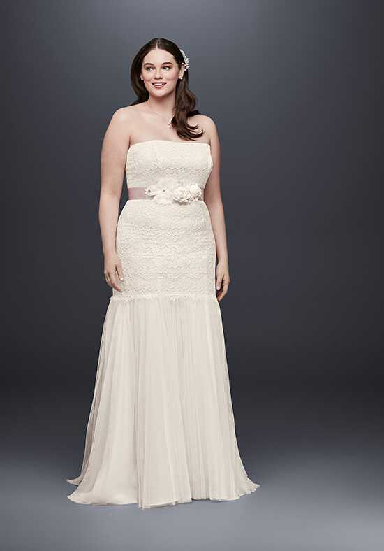 David's Bridal Galina Style 9KP3765 Mermaid Wedding Dress