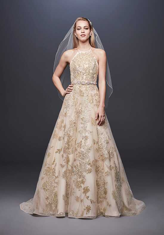 David's Bridal Galina Signature Style SWG801 Ball Gown Wedding Dress