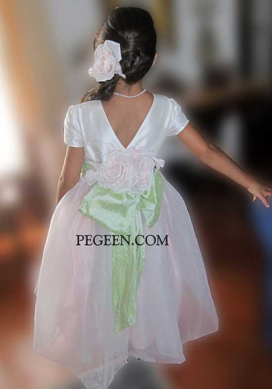 Pegeen.com  802 Flower Girl Dress photo