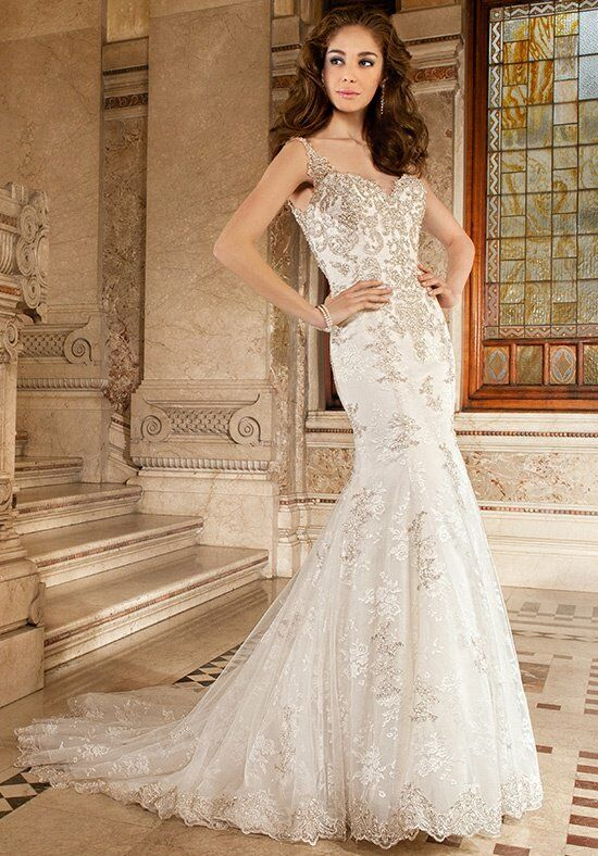 Demetrios 1491 Mermaid Wedding Dress