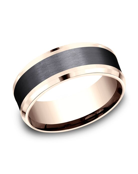 Benchmark CF468010BKT14KR Rose Gold Wedding Ring