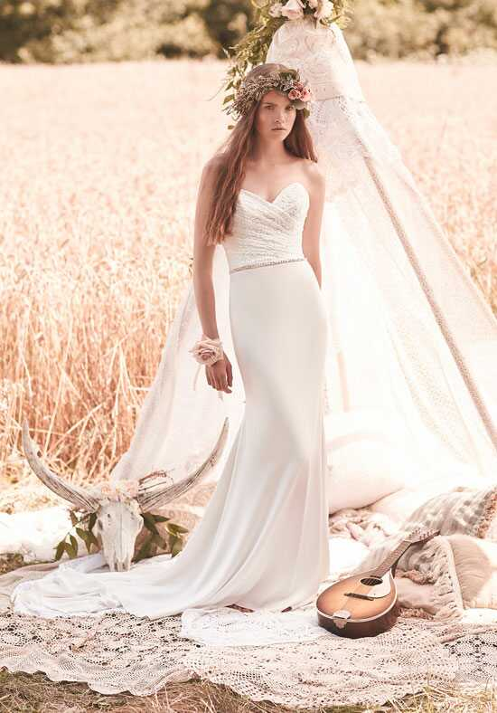 Mikaella 2064 Sheath Wedding Dress