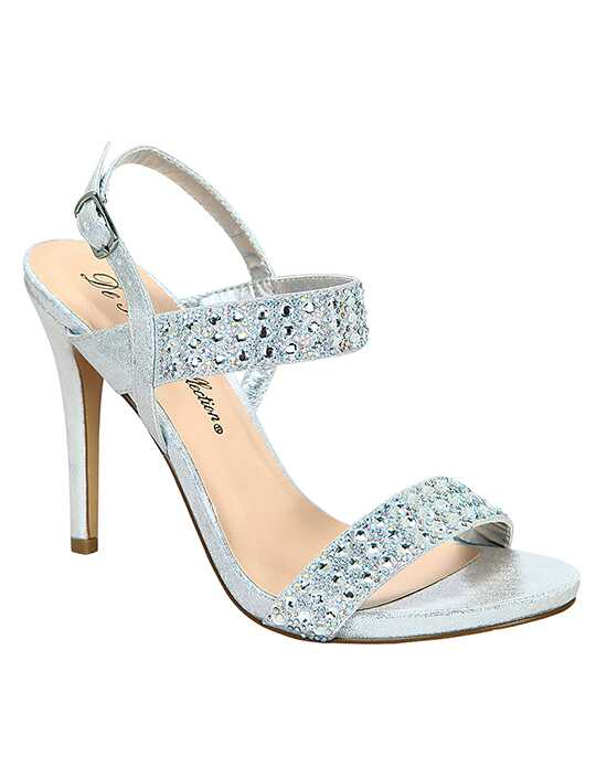 De Blossom Collection Macy-20 Silver Shoe
