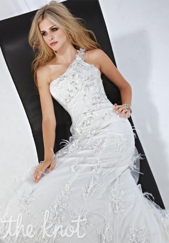 Impression Bridal 10088 Sheath Wedding Dress