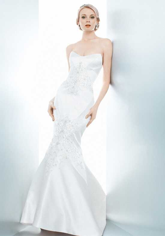 Matthew Christopher Bianca Mermaid Wedding Dress