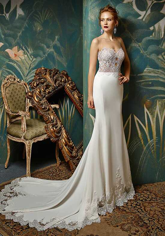 Blue by Enzoani Junko Mermaid Wedding Dress
