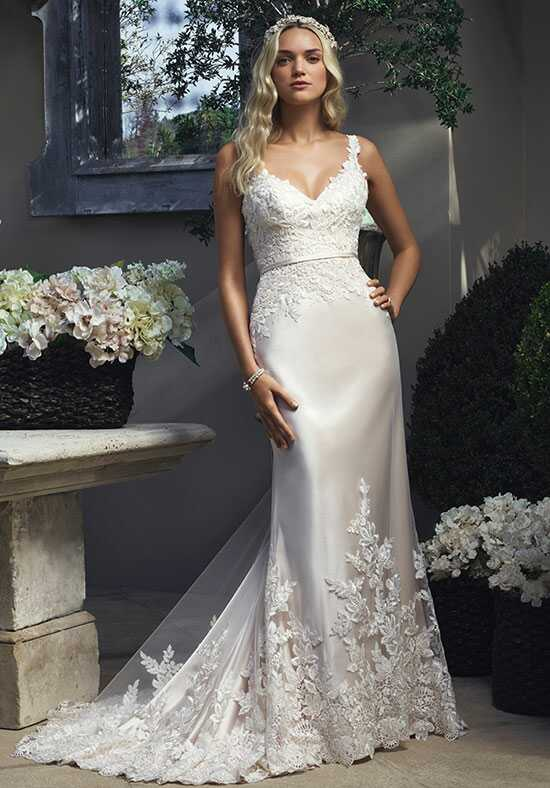 Casablanca Bridal 2210 Sheath Wedding Dress