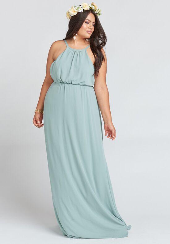 Show Me Your Mumu Amanda Maxi Dress - Silver Sage Crisp Bridesmaid ...