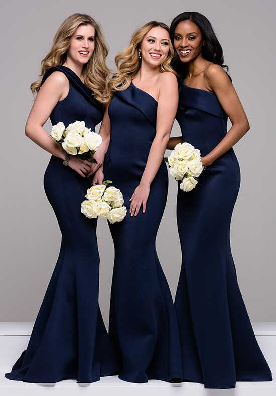 Jovani Bridesmaid 42983 One Shoulder Bridesmaid Dress
