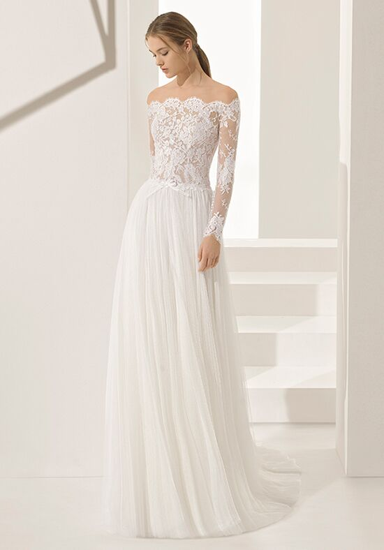 Rosa Clara Couture PALOMA Sheath Wedding Dress