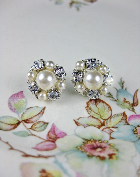 Everything Angelic Rachel Post Earrings - e324 Wedding Earring photo