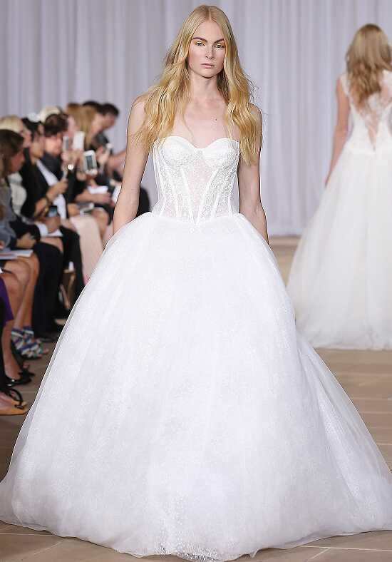 Ines Di Santo Sparkling Ball Gown Wedding Dress