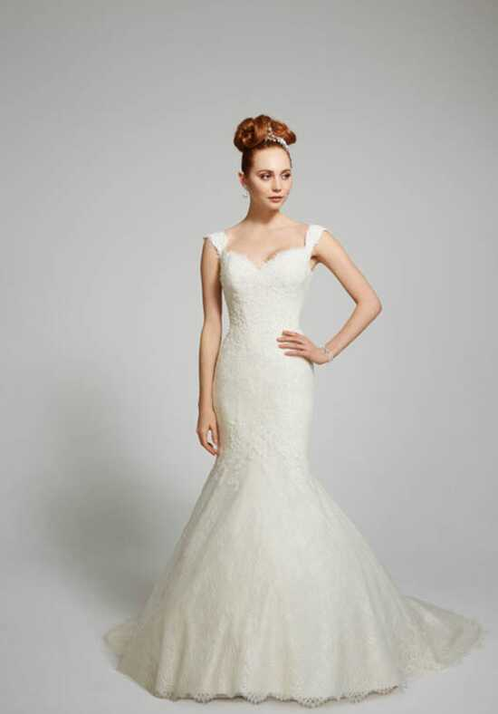 Matthew Christopher Loren Mermaid Wedding Dress