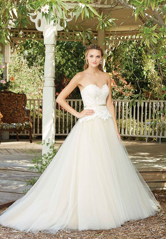 Casablanca Bridal Style 2282 Hydrangea Ball Gown Wedding Dress