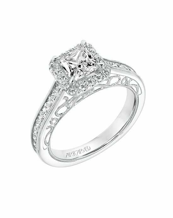 ArtCarved 31-V719ECW-E.00 Engagement Ring photo