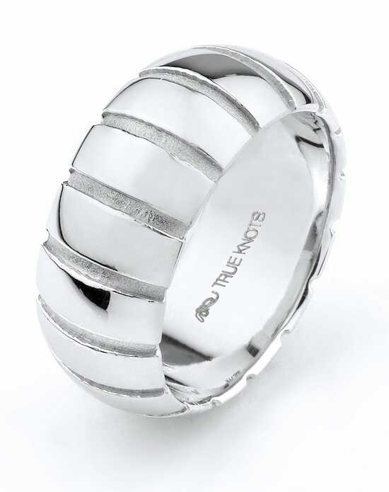 TRUE KNOTS True Man - 529DCW Palladium,Platinum,White Gold Wedding Ring