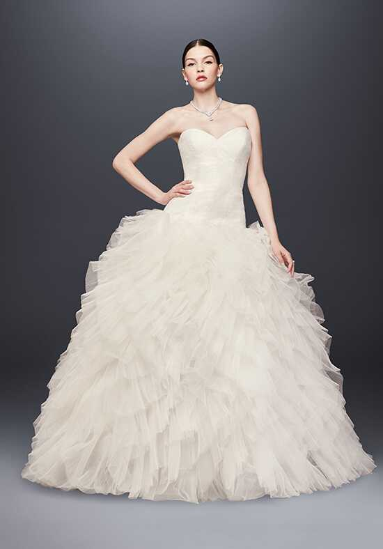 Truly Zac Posen at David's Bridal Truly Zac Posen Style ZP341734 Ball Gown Wedding Dress