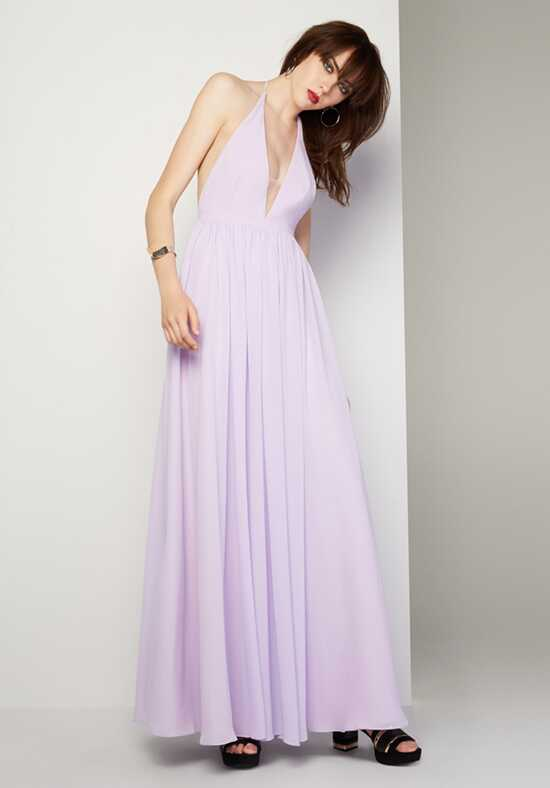 Fame and Partners Bridesmaid Moonlight Halter Bridesmaid Dress
