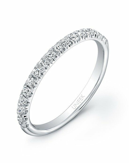 Uneek Fine Jewelry UWB010 White Gold Wedding Ring