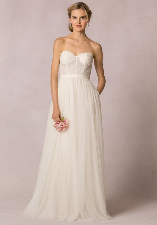 Meadow Bridal Bustier Top by Fable Dresses... wedding dress gown ...