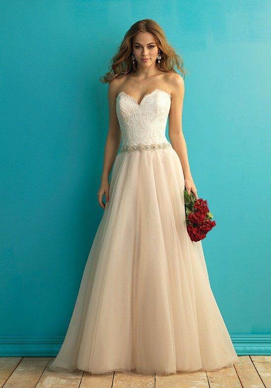 Allure Bridals 9269 A-Line Wedding Dress
