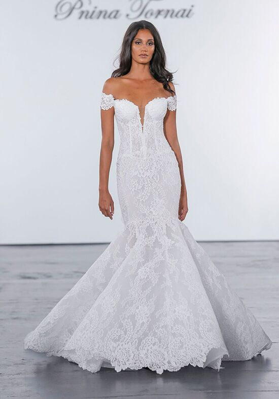 Pnina Tornai for Kleinfeld 4635 A-Line Wedding Dress
