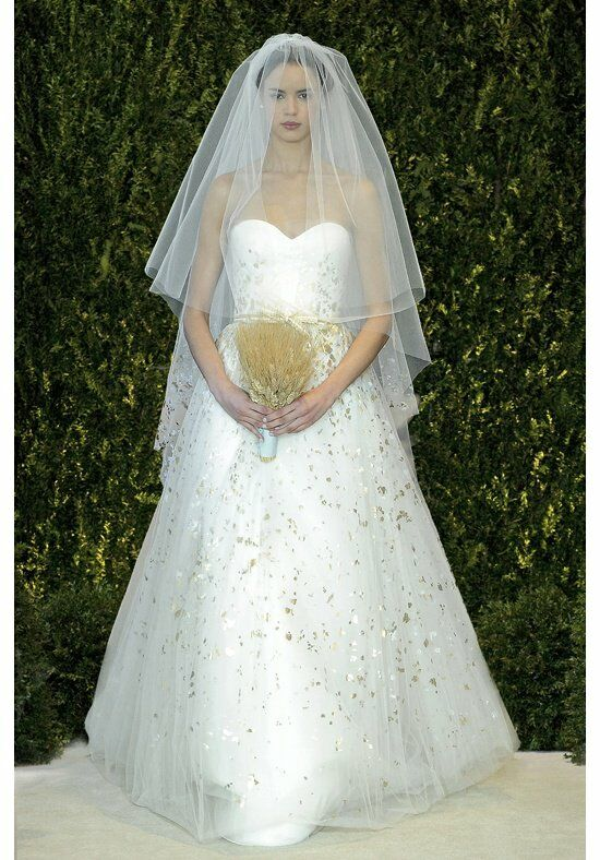 Carolina Herrera Aurora Ball Gown Wedding Dress