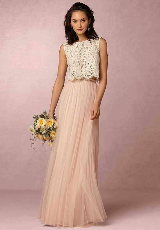 BHLDN (Bridesmaids) Louise Tulle Skirt-Light Pink Bridesmaid Dress