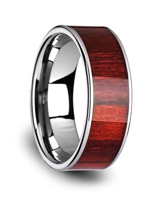 Mens Tungsten Wedding Bands W3834-TCRW Tungsten Wedding Ring