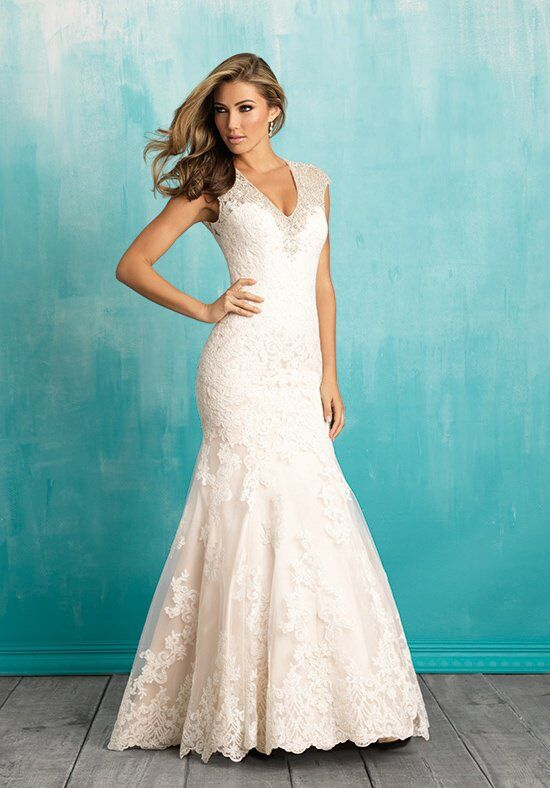 Allure Bridals 9307 A-Line Wedding Dress