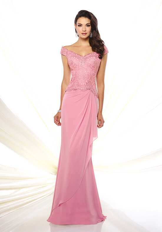 Montage by Mon Cheri 116937 Pink Mother Of The Bride Dress