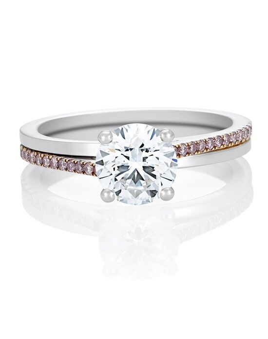 De Beers Pink Promise Engagement Ring Platinum Wedding