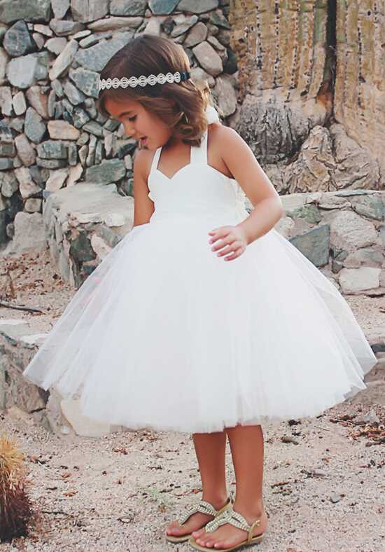 FATTIEPIE Annette Ivory Flower Girl Dress