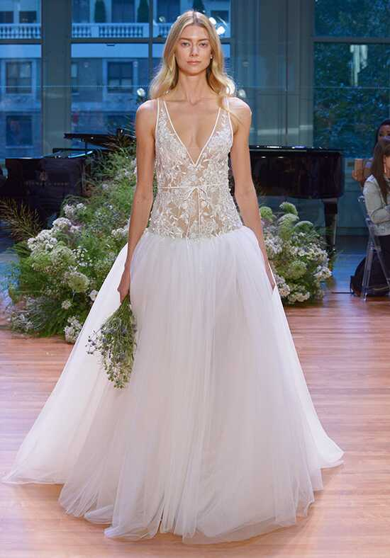 Monique Lhuillier Viola Ball Gown Wedding Dress