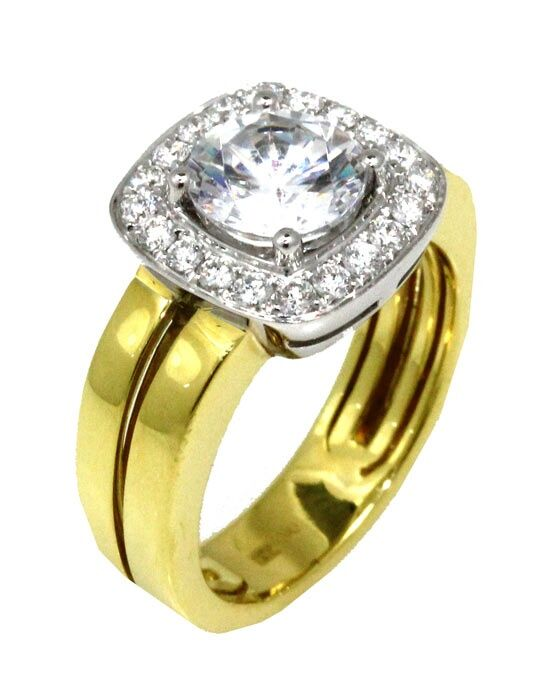 Frederic Sage RM111-WY White Gold, Gold Wedding Ring